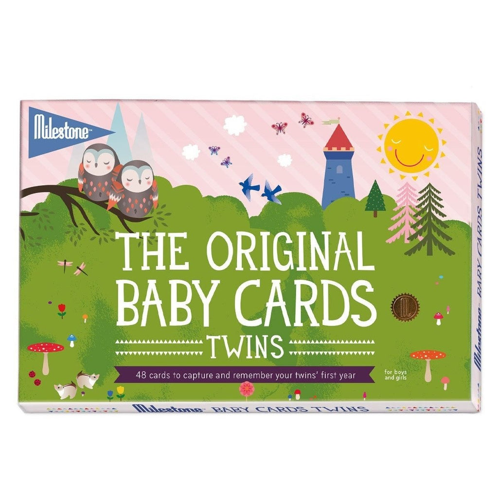Milestone The Original Baby Cards - Twins
