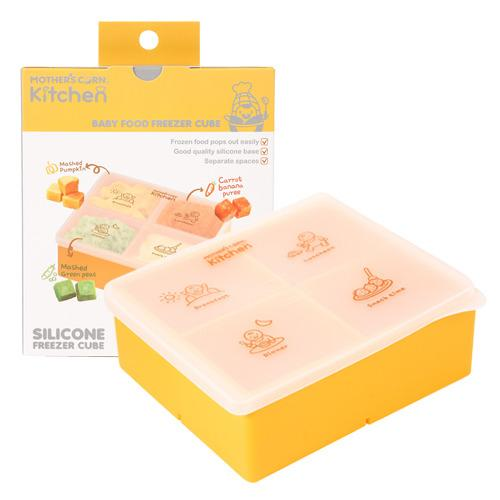 Mother's Corn Silicone Freezer Cube - Large Yellow - Mother's Corn Silicone Freezer Cube - Large