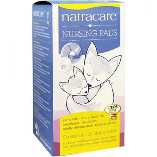 Natracare Natural Nursing Pads 26pcs - Natracare Natural Nursing Pads 26pcs
