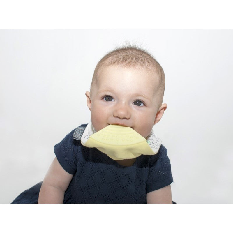 Cheeky Chompers Neckerchew Baby Bib - Barnaby Sheep - Little Baby Singapore - 3