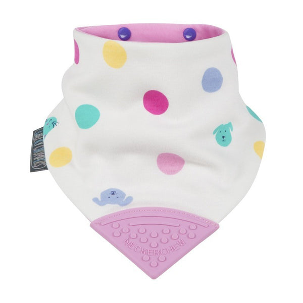 Cheeky Chompers Neckerchew Baby Bib - Cat Dog Spot - Little Baby