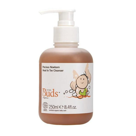 Buds Cherished Organics Precious Newborn Head To Toe Cleanser