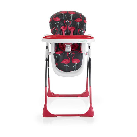 Cosatto Noodle Supa Highchair - Flamingo Fling