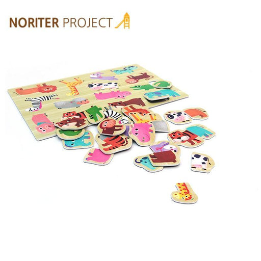 Noriterboard Magnetic Puzzle (Animal) - Noriterboard Magnetic Puzzle (Animal)
