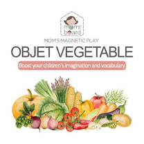 Momsboard Magnetic Objet – Vegetable