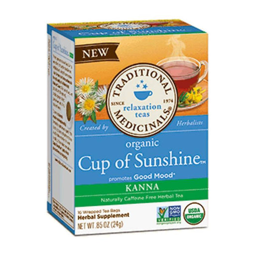 Organic Herbal Tea - Traditional Medicinals Cup Of Sunshine, 16bags