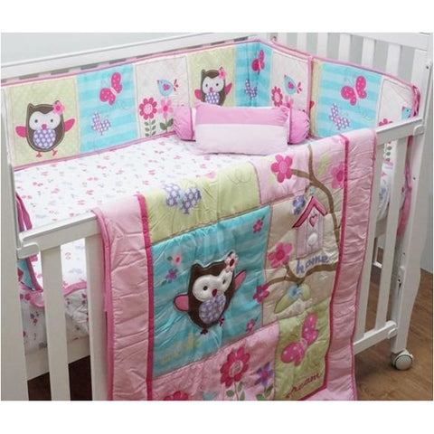 Bedding Set – P2 (Happy Owl)