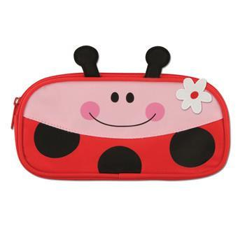 Pencil Case - Stephen Joseph Pencil Pouch (Lady Bug)