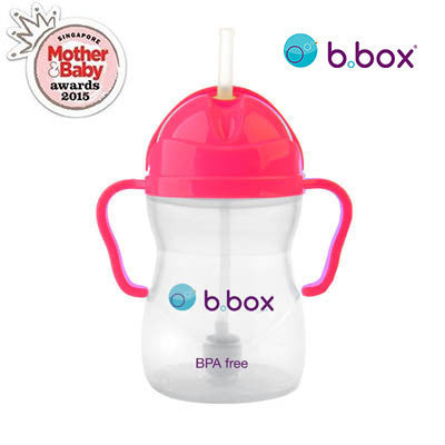 B.Box Sippy Cup (Pomegranate - Neon Limited Edition)
