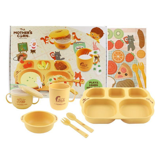 Play & Learn Meal Time Set - Mother's Corn Award Winning Play & Learn Meal Time Set