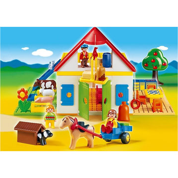 PLAYMOBIL 1.2.3 - Playmobil 6750 1.2.3 Large Farm