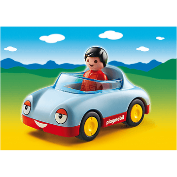 PLAYMOBIL 1.2.3 - Playmobil 6790 1.2.3 Convertible Car