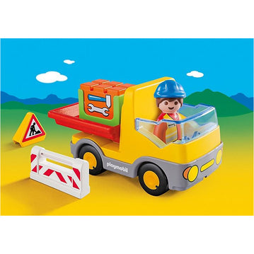 PLAYMOBIL 1.2.3 - Playmobil 6960 1.2.3 Construction Truck