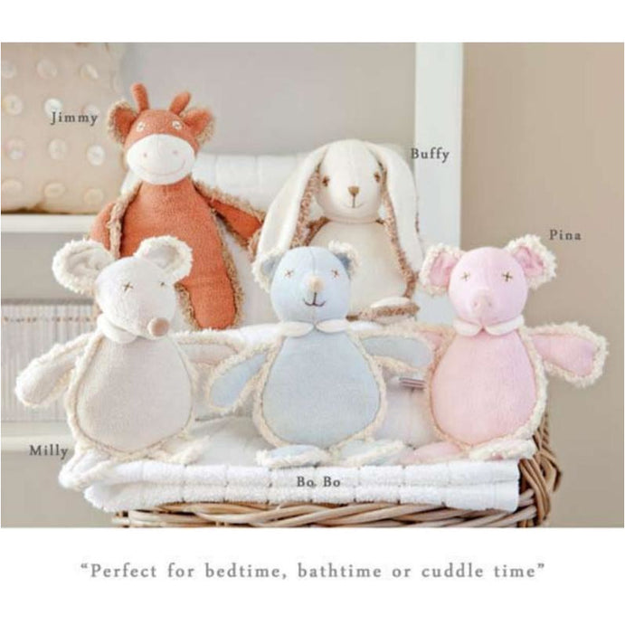 Plush Toy - Charlie Bears Baby - Little Organic Skinny Collection