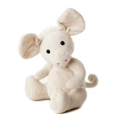 Plush Toy - Charlie Bears Baby Organic Anastasia Piglet (Large) With Gift Box