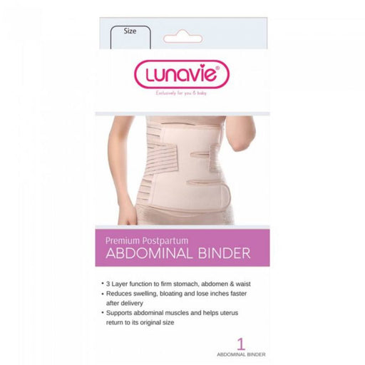 Postpartum Abdominal Binder - Lunavie Premium Postpartum Abdominal Binder - 3 Sizes