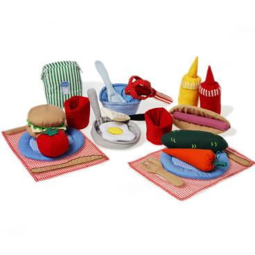 Pretend Play - Oskar & Ellen Cooking Set