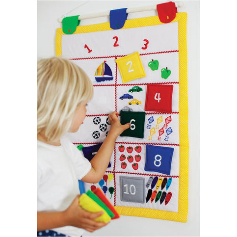 Pretend Play - Oskar & Ellen Counting 123 Wall Picture