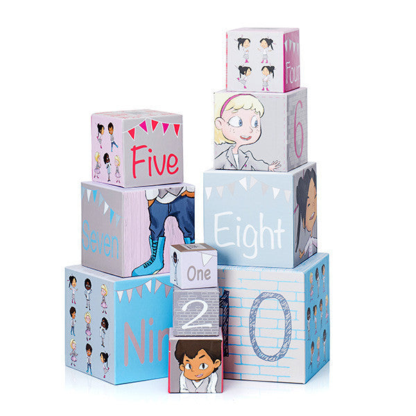 Minimondos Blocks - Counting (90cm High) - Little Baby