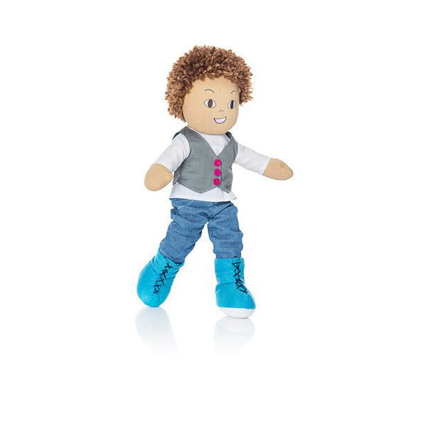 Minimondos Soft Doll (Large) - Luca - Little Baby