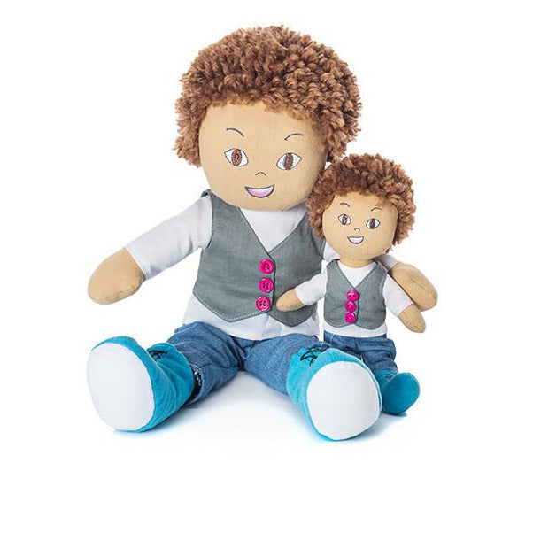 Minimondos Soft Doll (Small) - Luca - Little Baby