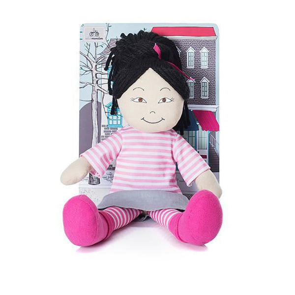 Minimondos Soft Doll (Large) - Mia - Little Baby