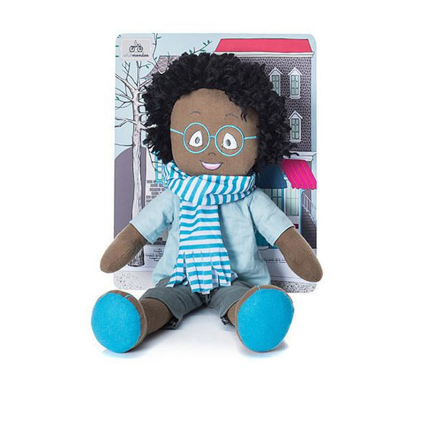 Minimondos Soft Doll (Large) - Rafi - Little Baby