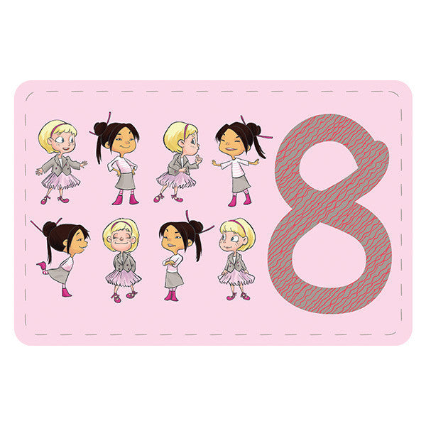 Minimondos Puzzle Sets - Numbers (30pcs) - Little Baby