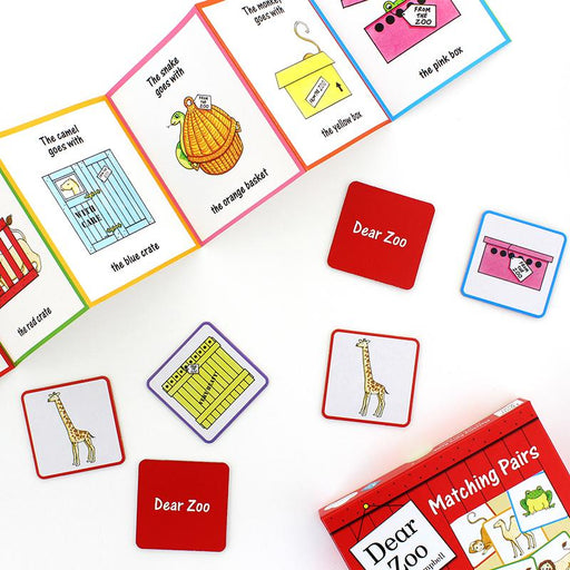 Puzzles - Dear Zoo Matching Pairs Game