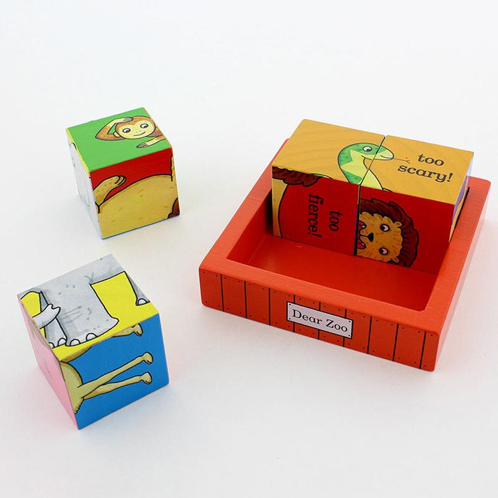 Puzzles - Dear Zoo Wooden Puzzle Blocks