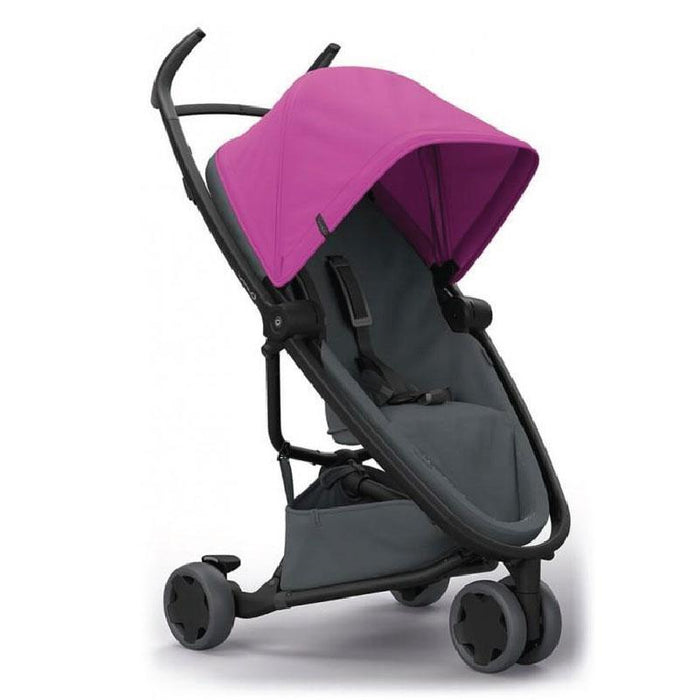 Quinny QN1399381000 ZAPP FLEX Stroller - Pink on Graphite