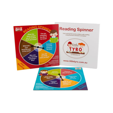 Little Tyro Reading Spinners