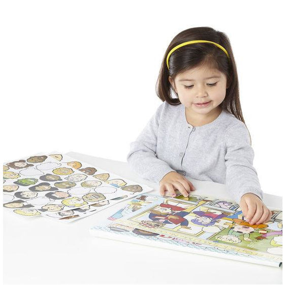 Reusable Sticker Pad - Melissa & Doug Reusable Sticker Pad - Face It