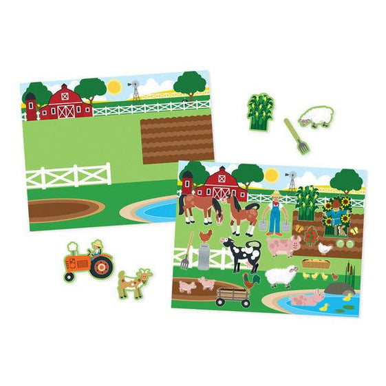 Reusable Sticker Pad - Melissa & Doug Reusable Sticker Pad - Habitats