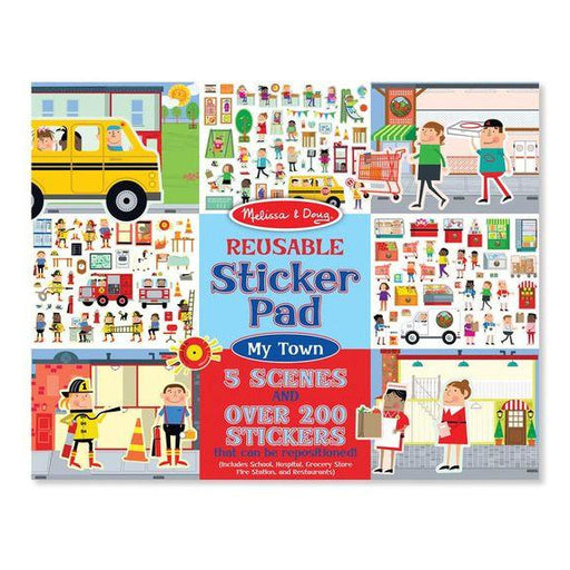 Reusable Sticker Pad - Melissa & Doug Reusable Sticker Pad - Town