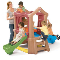 Step 2 Play Up Double Slide Climber - Little Baby