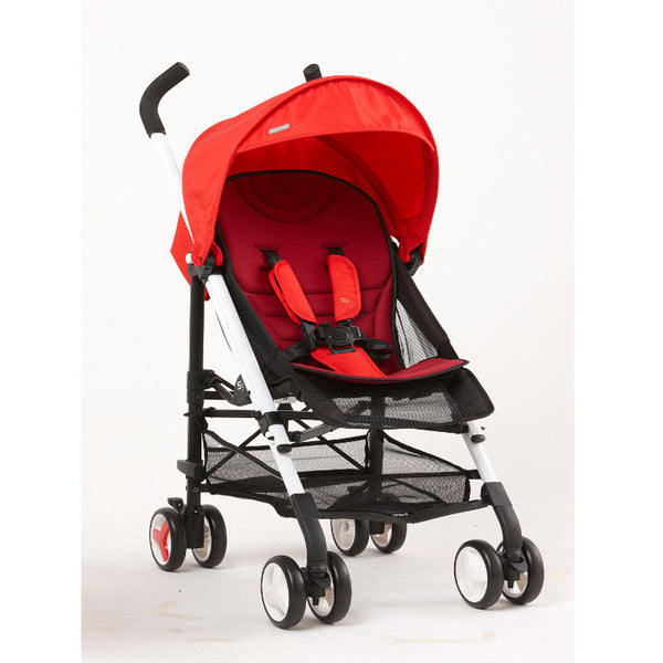 Fedora S3 Plus Stroller - Cherry Red - Little Baby