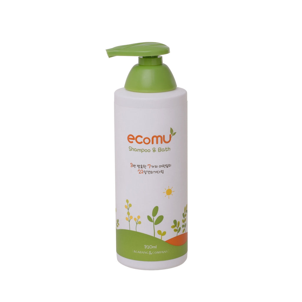 Ecomu Shampoo and Bath 320ML (50% Off) - Pre Order - Little Baby