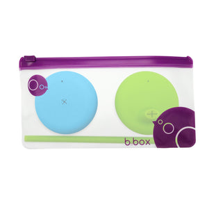 Silicone Lids - B.Box Silicone Lids Travel Pack - Ocean Breeze (Online Exclusive)
