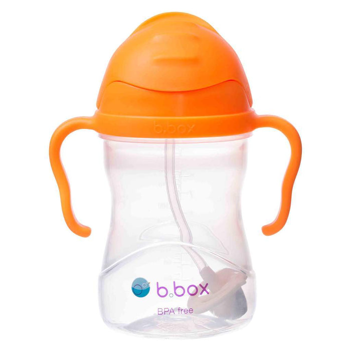 Sippy Cup - B.Box Sippy Cup Neon - Orange Zing (NEW Upgraded 2019)