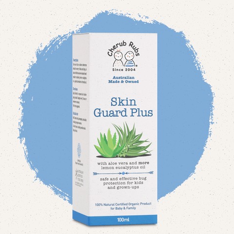 Cherub Rubs Skin Guard Plus – DEET-free Insect Repellent