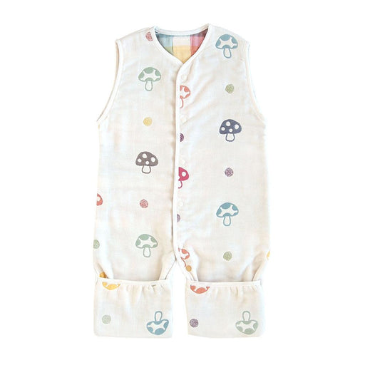 Sleeping Vest - Hoppetta Champignon 6 Layer Gauze 3 Way Sleeping Vest