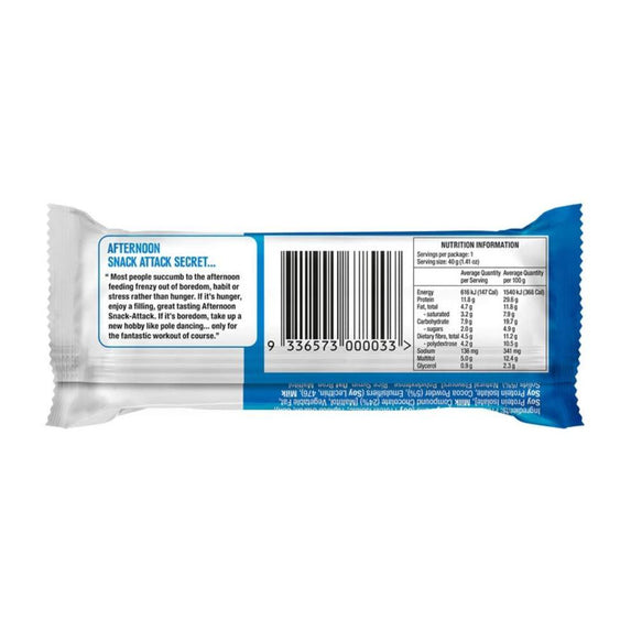 Slim Secrets Afternoon Snack-Attack! Choc Caramel Decadence Protein Bar 40g - Slim Secrets Afternoon Snack-Attack! Choc Caramel Decadence Protein Bar 40g