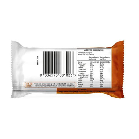 Slim Secrets Fit & Fab Mini Protein Bars - Choc Peanut & Caramel Fudge (Box Of 12) - Slim Secrets Fit & Fab Mini Protein Bars - Choc Peanut & Caramel Fudge (Box Of 12)