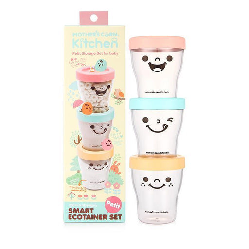 Smart Ecotainer Set - Mother's Corn Petit Smart Ecotainer Set - Get Free Snack