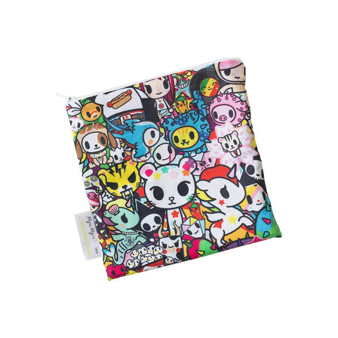 Itzy Ritzy SNACK HAPPENS™ REUSABLE SNACK BAGS - TOKIDOKI COLLECTION