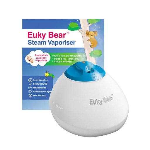 Steam Vaporiser - Euky Bear Steam Vaporiser (with 3 Pin SG Plug)