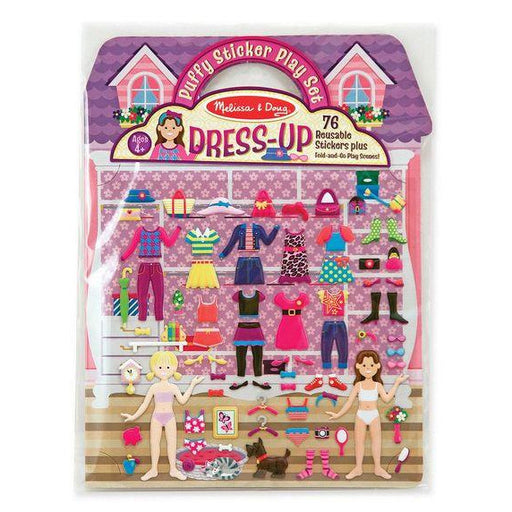 Stickers - Melissa Doug Puffy Stickers Play Set: Dress-Up