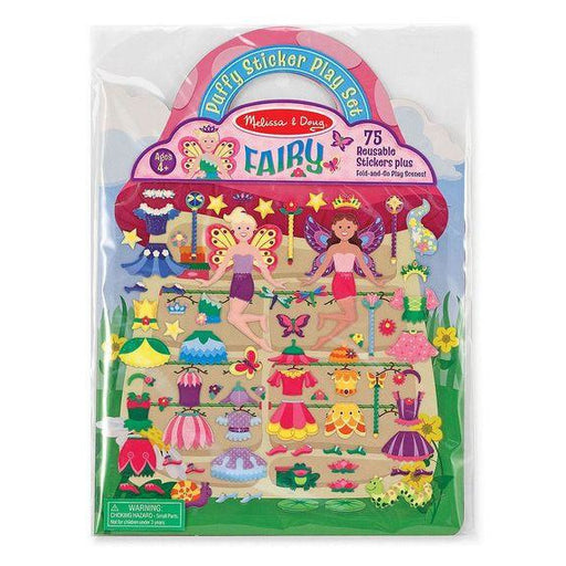 Stickers - Melissa & Doug Puffy Stickers Play Set: Fairy
