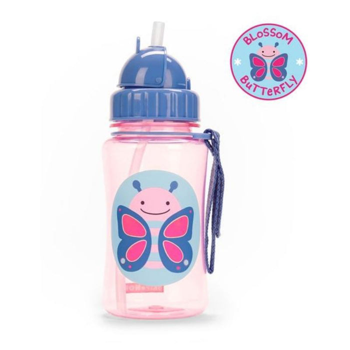 Straw Bottle - Skip Hop Zoo Straw Bottle - Butterfly